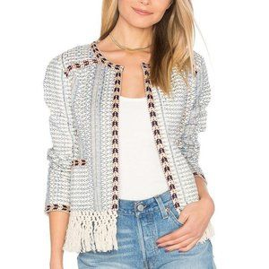 Tularosa Santa Fe Fringe Jacket Cotton XS